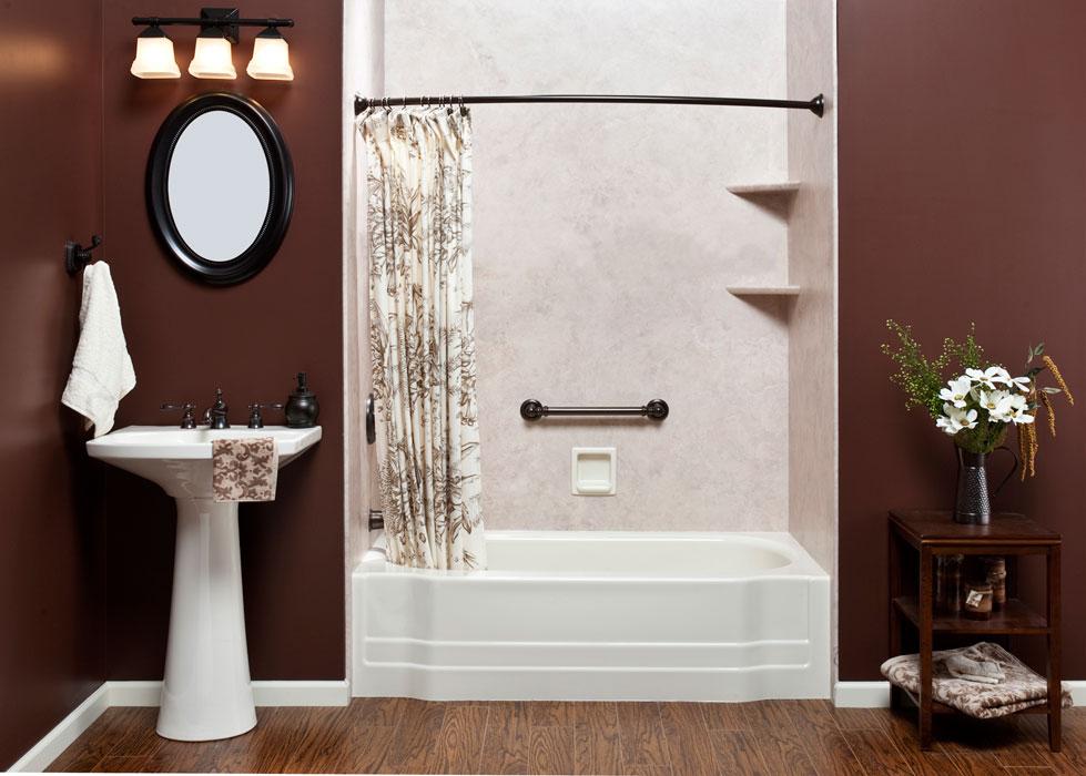 One Day Bath Remodel Chicago Affordable Bathroom