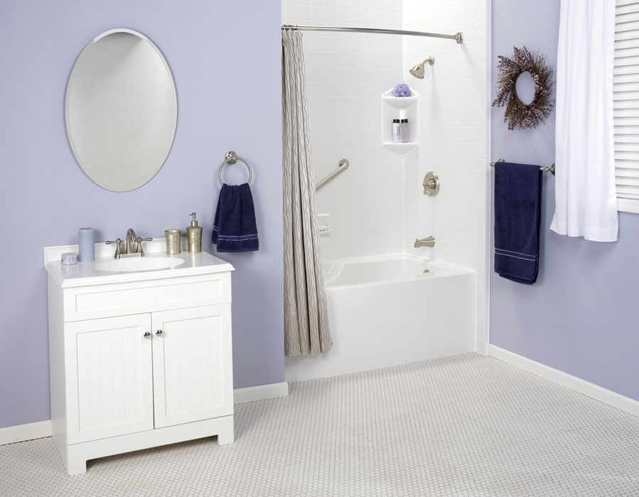One day bath remodel chicago affordable bathroom for Bathroom remodel 1 day