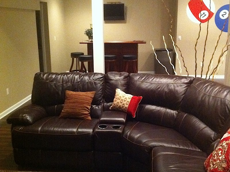 ct basement remodeling, remodeling ideas,Example of Adult Lounge by Fiderio