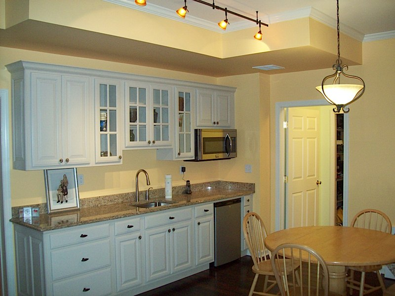 ct basement remodeling, remodeling ideas,Example of Kitchenette by Fiderio
