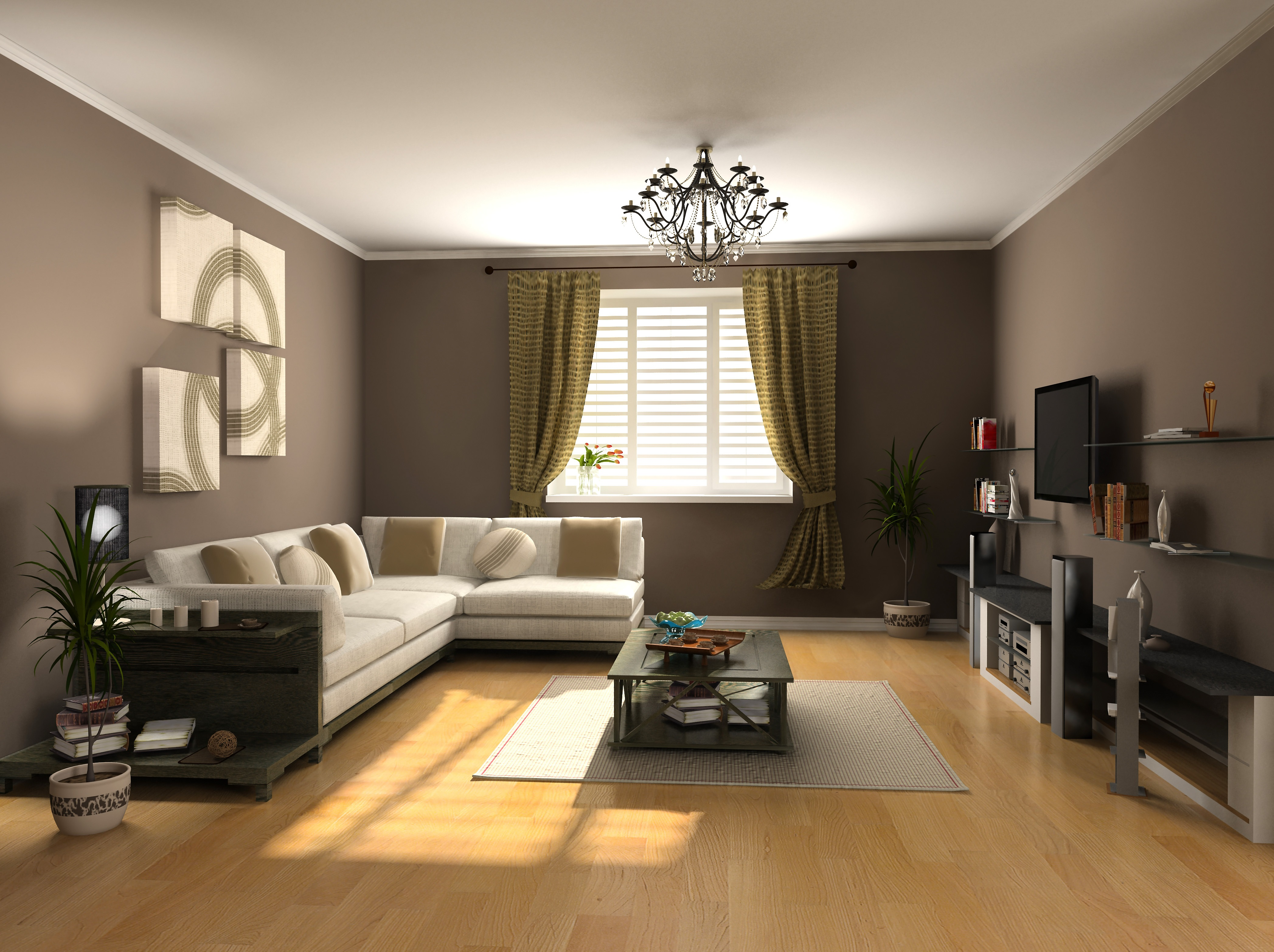 Дизайны интерьеров зала