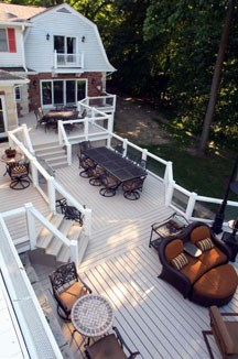 composite deck boards and decking supplies chicago