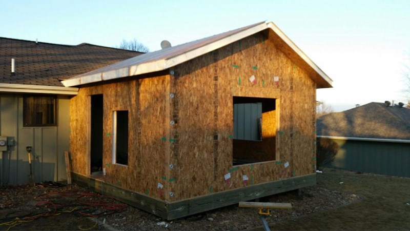 Midwest construction build sips addition in pella iowa for Sip panel manufacturers california