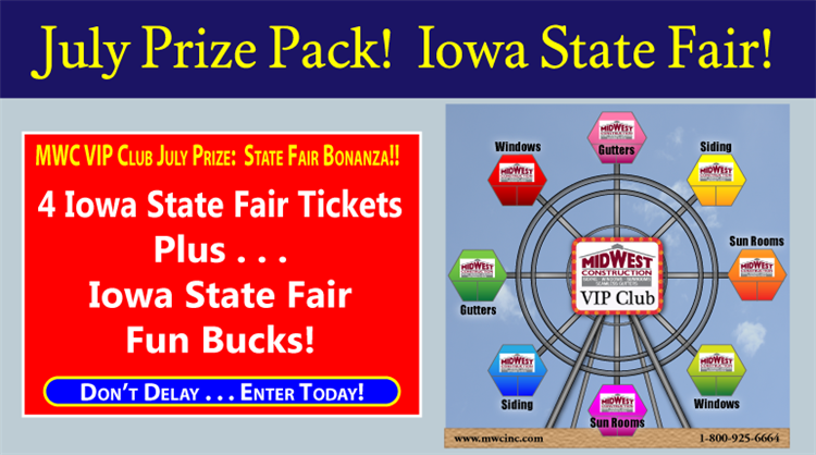 Iowa State Fair Family Fun Pack