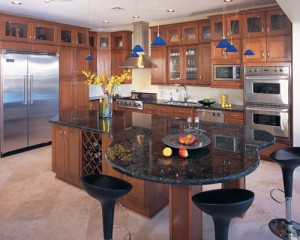 Statewide Remodeling kitchen with open cabinetry