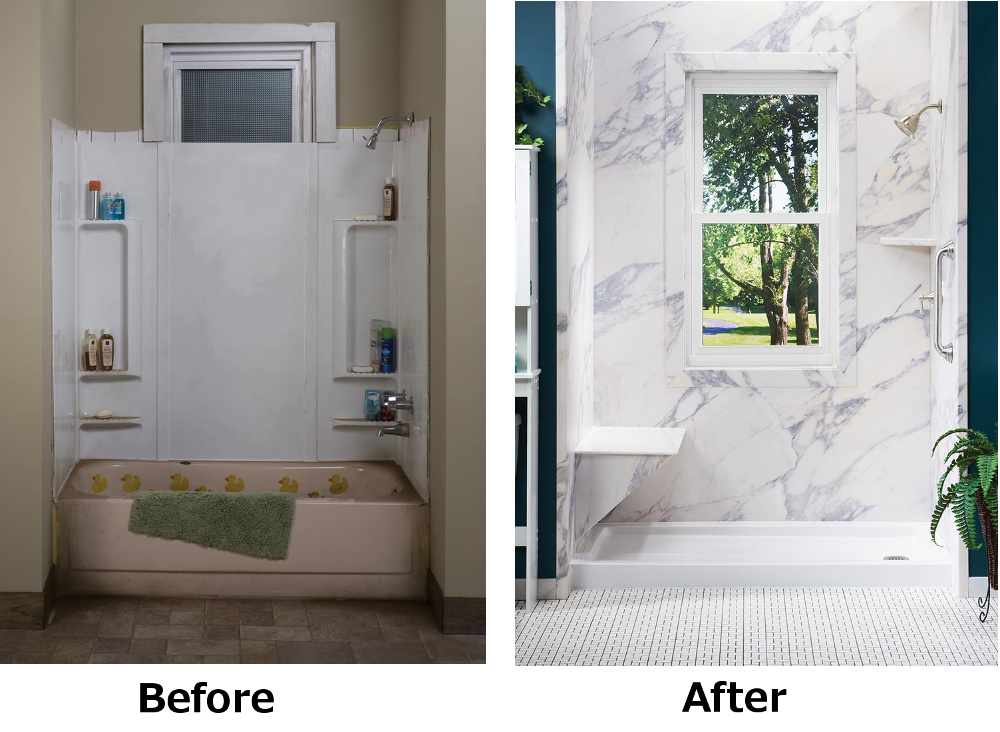 Remodeled Bathroom Photos Before And After 5 bathroom remodeling trends for 2015 - statewide remodeling blog