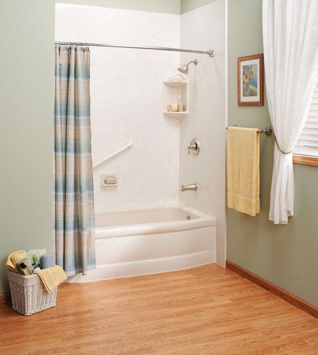 Bathtub Shower Combo Tub Shower Combo One Day Bath