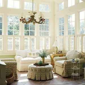 Sunroom Blinds and Shades Great Options for Wisconsin Homeowners