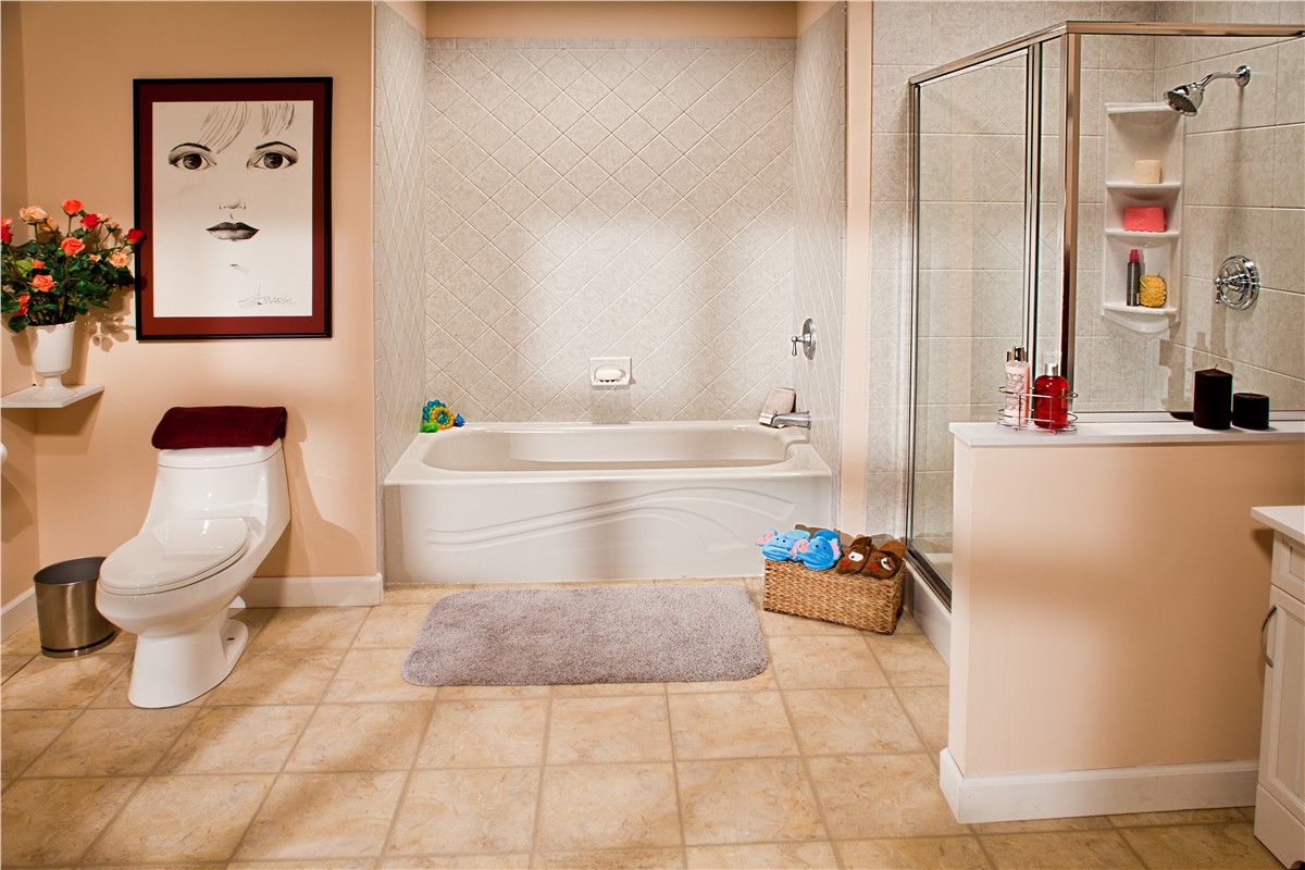 Bathroom remodels photos