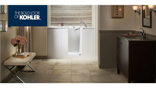 $500 off New KOHLER® LuxStone™ Bath Walls
