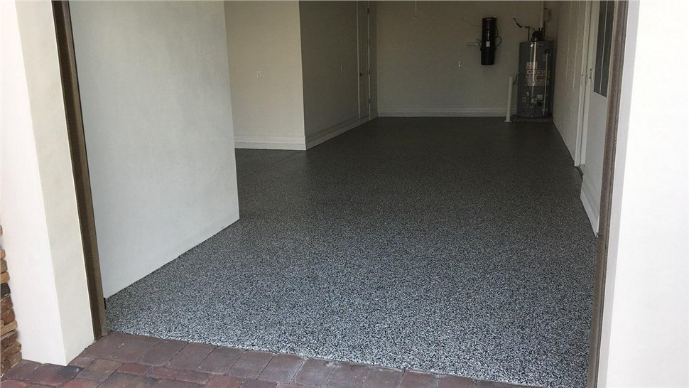 Residential - Garage Floor Coating Photo 1