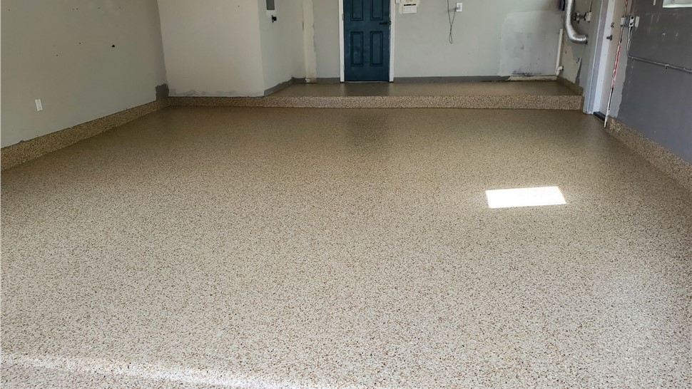 Residential - Garage Floor Coating Photo 1