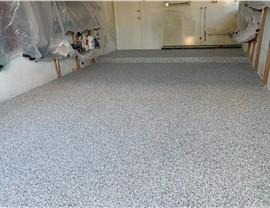Residential - Garage Floor Coating Photo 2