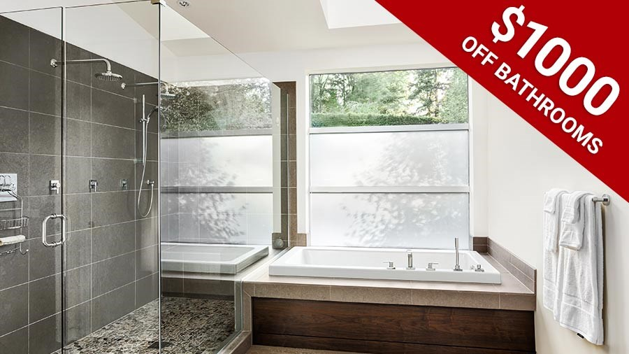 $1,000 Off Bathroom Installation