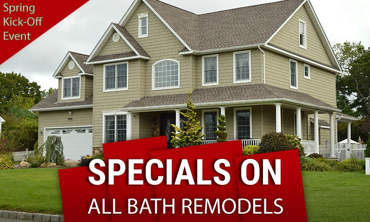 Spring Kick-Off Sale For All Bathroom Projects