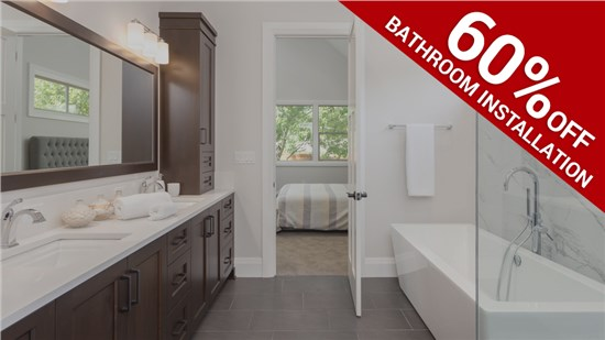 60% Off Bathroom Installation