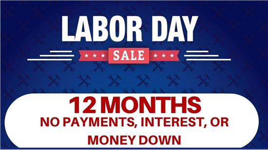 12 Months Without Payment, Interest, or Money Down
