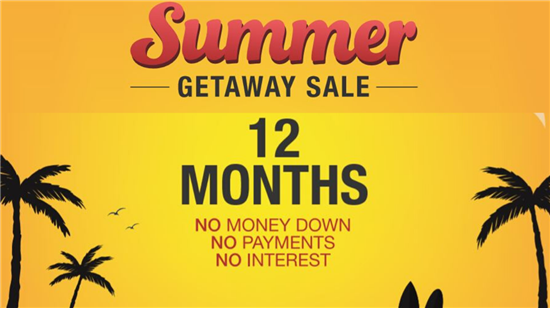 12 Months Without Payments or Interest