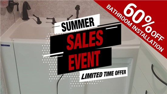 60% Off Bathroom Installation