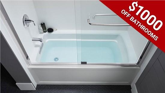 $1,000 Off Bathroom Installation