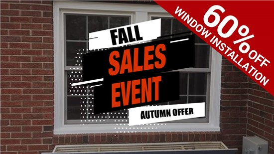 Replacement Window Sales Event