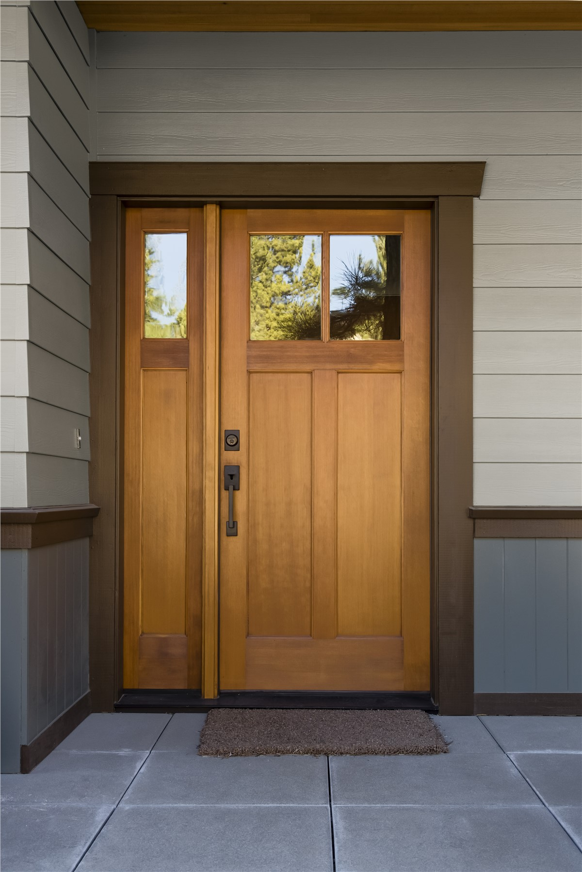 Fiberglass Entry Doors All Weather Seal Of West Michigan