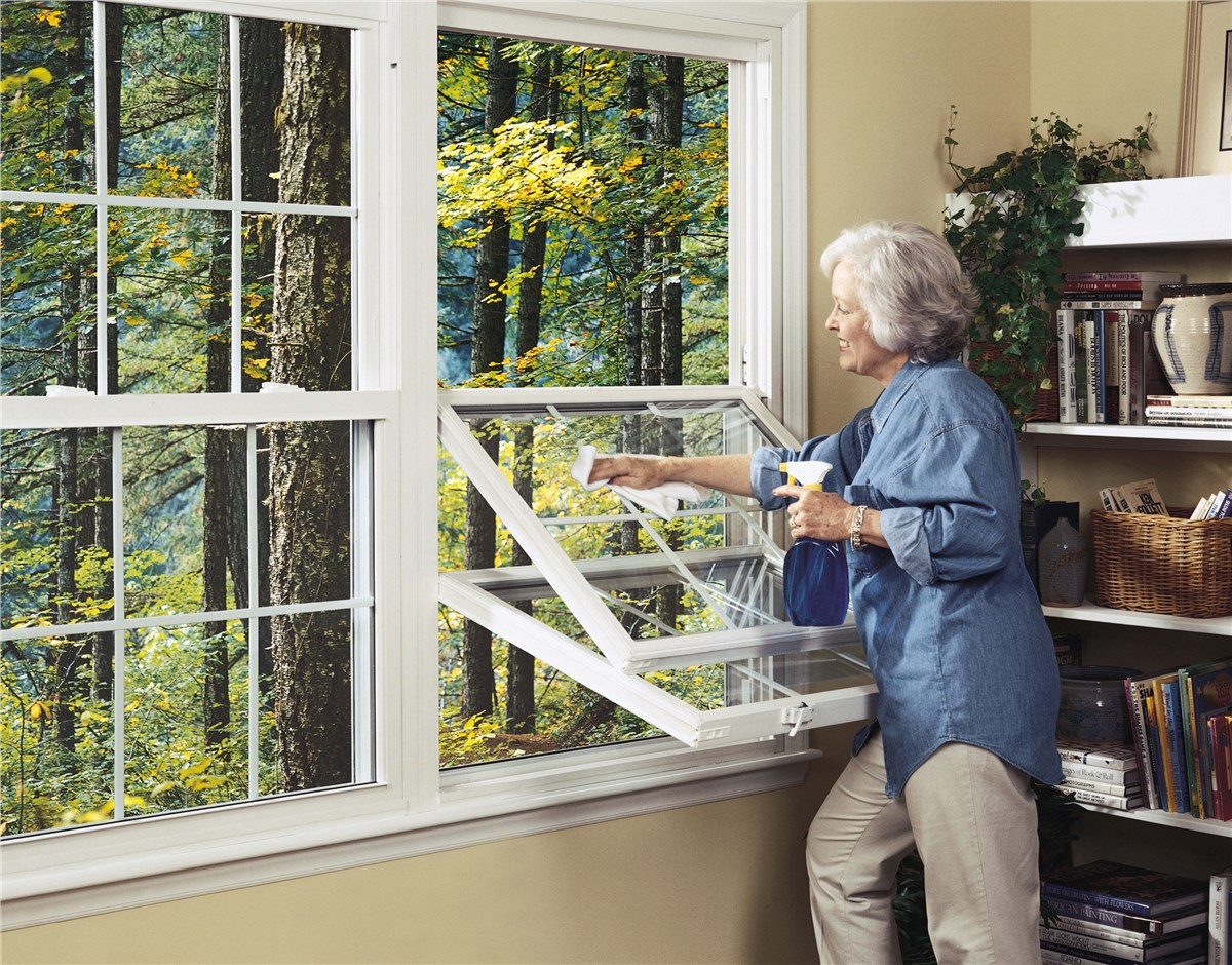 Double hung windows all weather seal of west michigan mi for Double hung replacement windows reviews