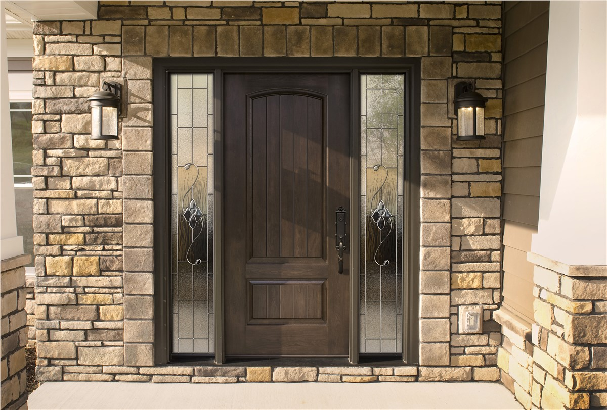 Wood entry doors all weather seal of west michigan mi for All wood exterior doors