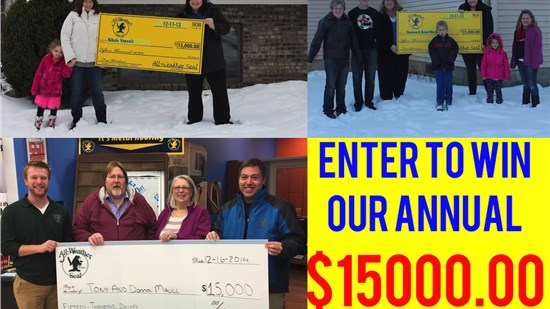 ENTER TO WIN $15000.00 IN HOME RENOVATIONS!