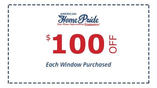 $100 Off Windows
