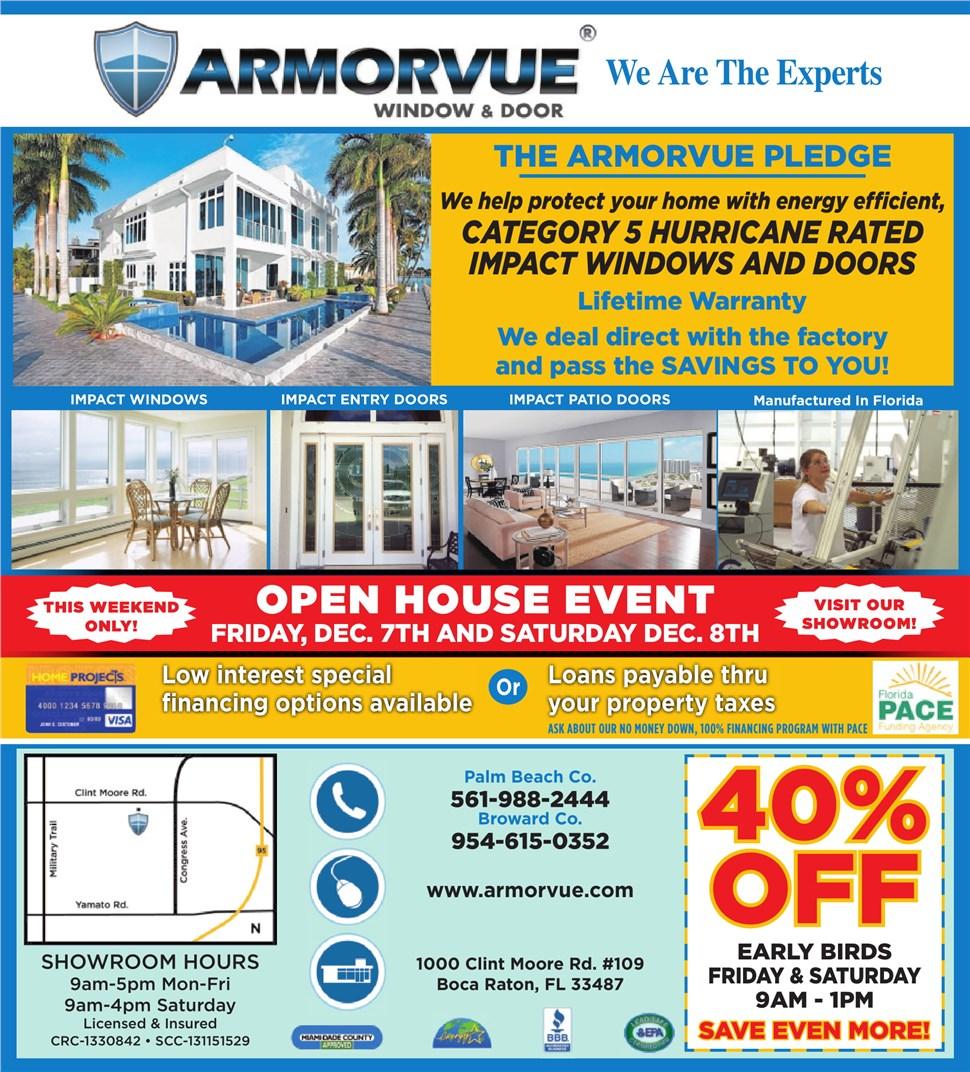 Boca Raton December Open House!