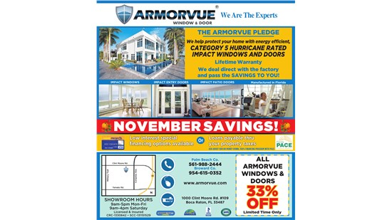 Boca Raton November Open House!