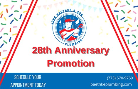 28th Anniversary Promotion