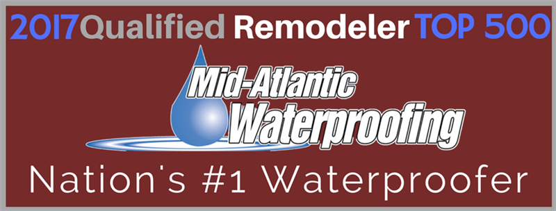 QUALIFIED REMODELER TOP WATERPROOFING COMPANY ONCE AGAIN