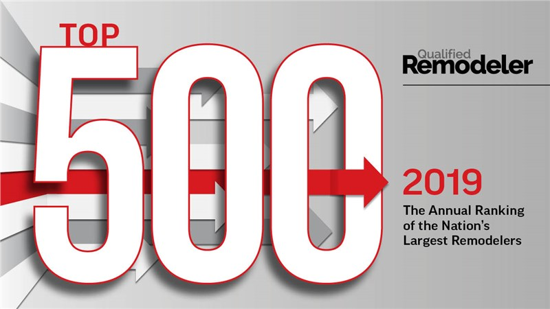 Mid-Atlantic Named Top Performer On Qualified Remodeler's Top 500 for 2019