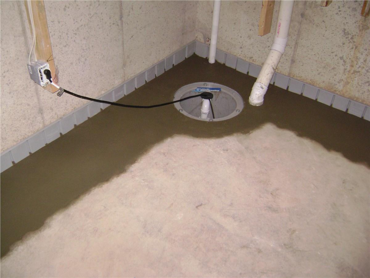 Sump Pump Installation Arlington