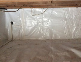 Waterproofing - Crawl Space Waterproofing Photo 4