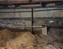 Waterproofing - Crawl Space Waterproofing Photo 2