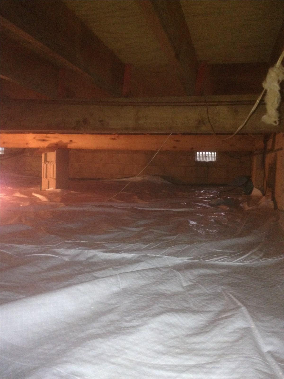 Crawlspace Waterproofing   Basement Waterproofing Solutions