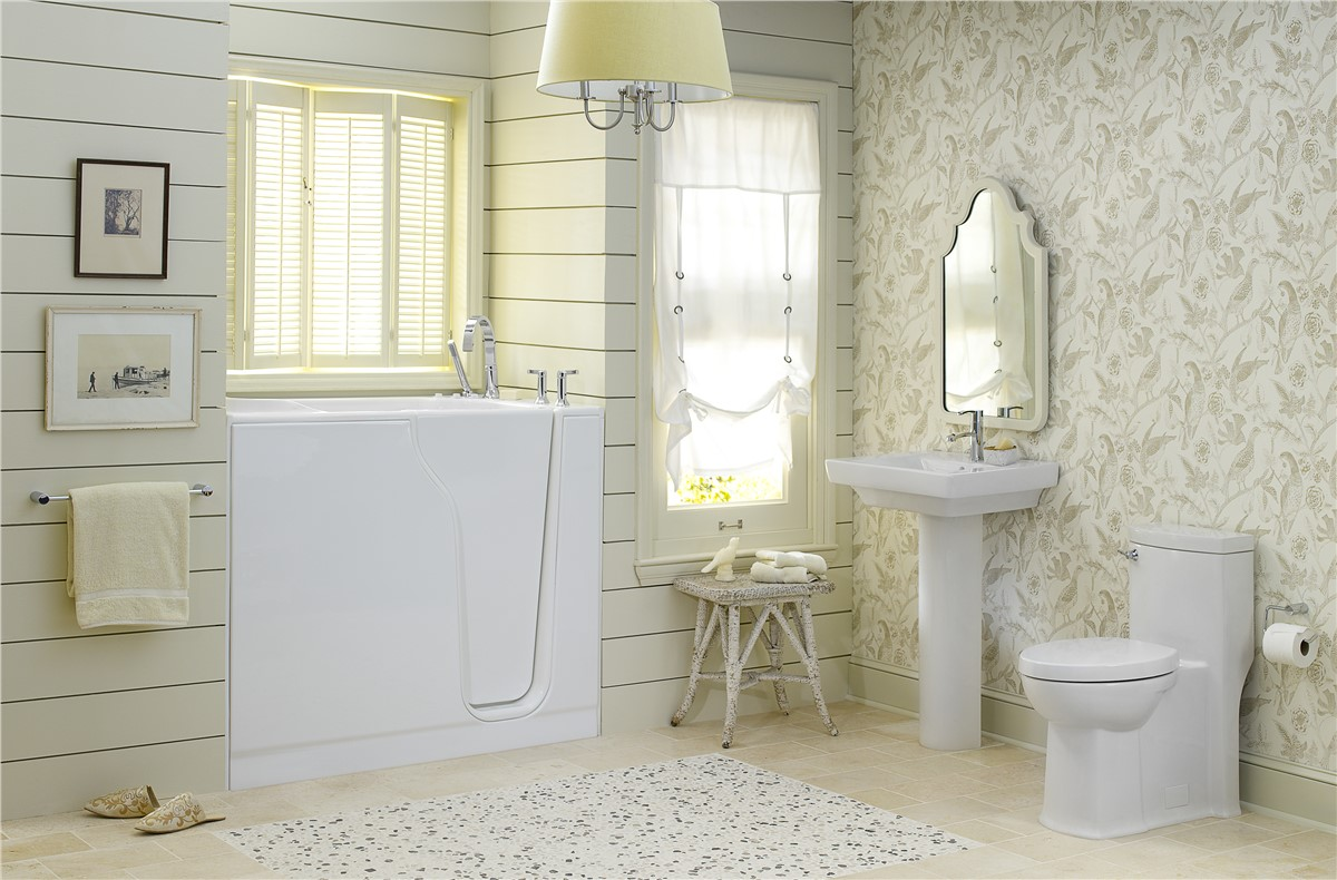 Walk in tubs quad cities bathroom remodel the bath company for Bathroom remodel quad cities