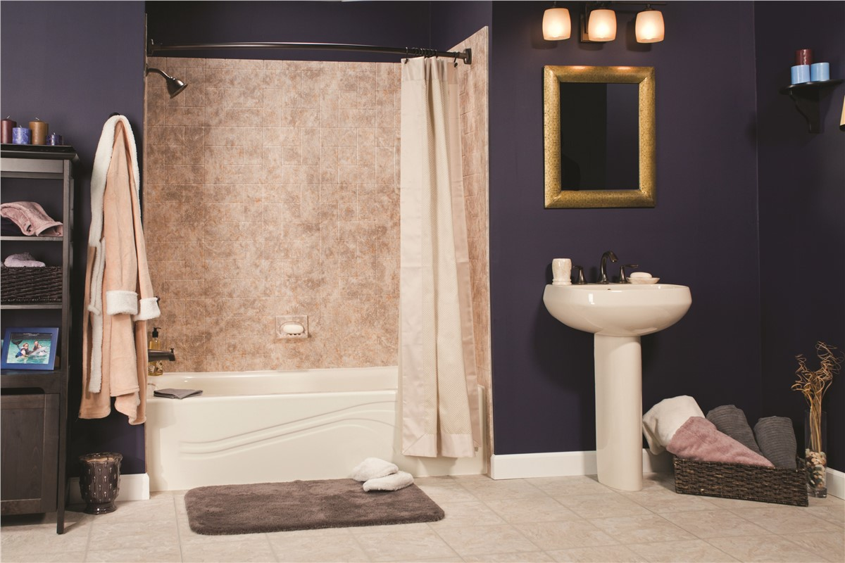 The bath company offers one day installs for bathtub liners - Bathroom contractors quad cities ...
