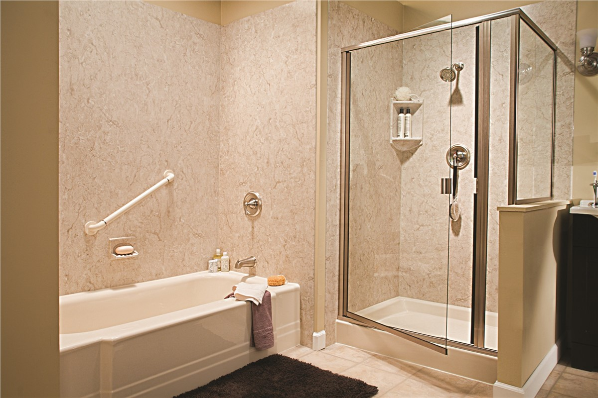 Bathroom remodeling for the quad cities peoria for Bathroom contractors quad cities