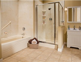 One Day Remodel - Master Bath Photo 2