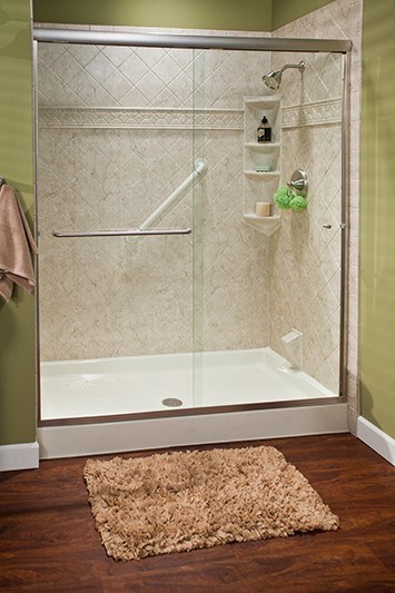 Take Your Bathroom from So-So to Stunning in As Little As 1 Day with a Shower Wall Surround