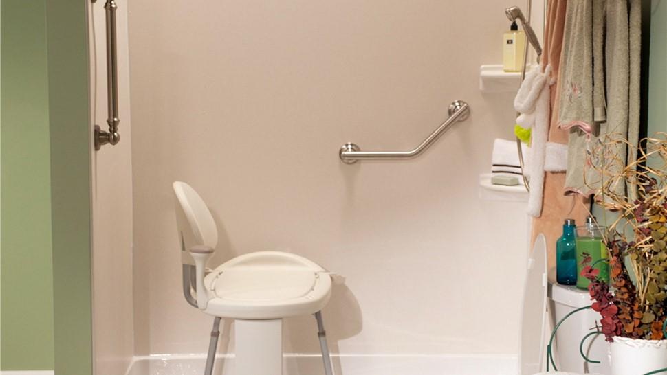 Elmira Barrier Free Shower Base | Handicap Shower Base Elmira | Bath ...