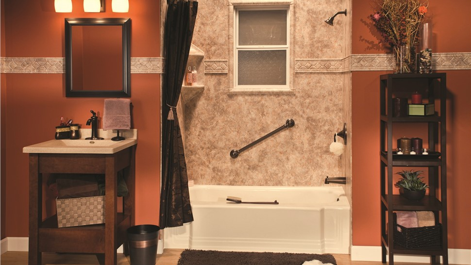 Bathroom Remodel - Acrylic Wall Systems Photo 1