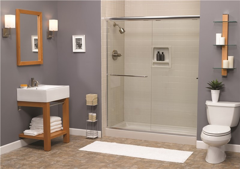 Soak up the Benefits of a Tub to Shower Conversion
