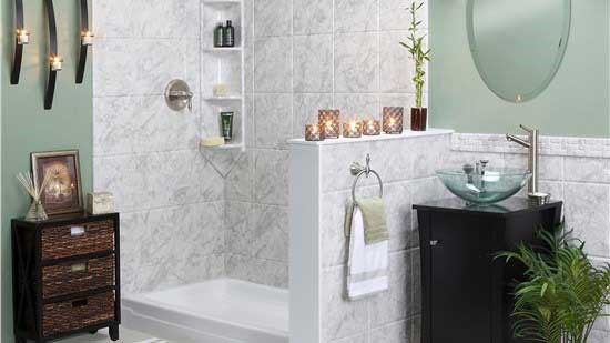 New Bathroom Remodel as low as $160/month