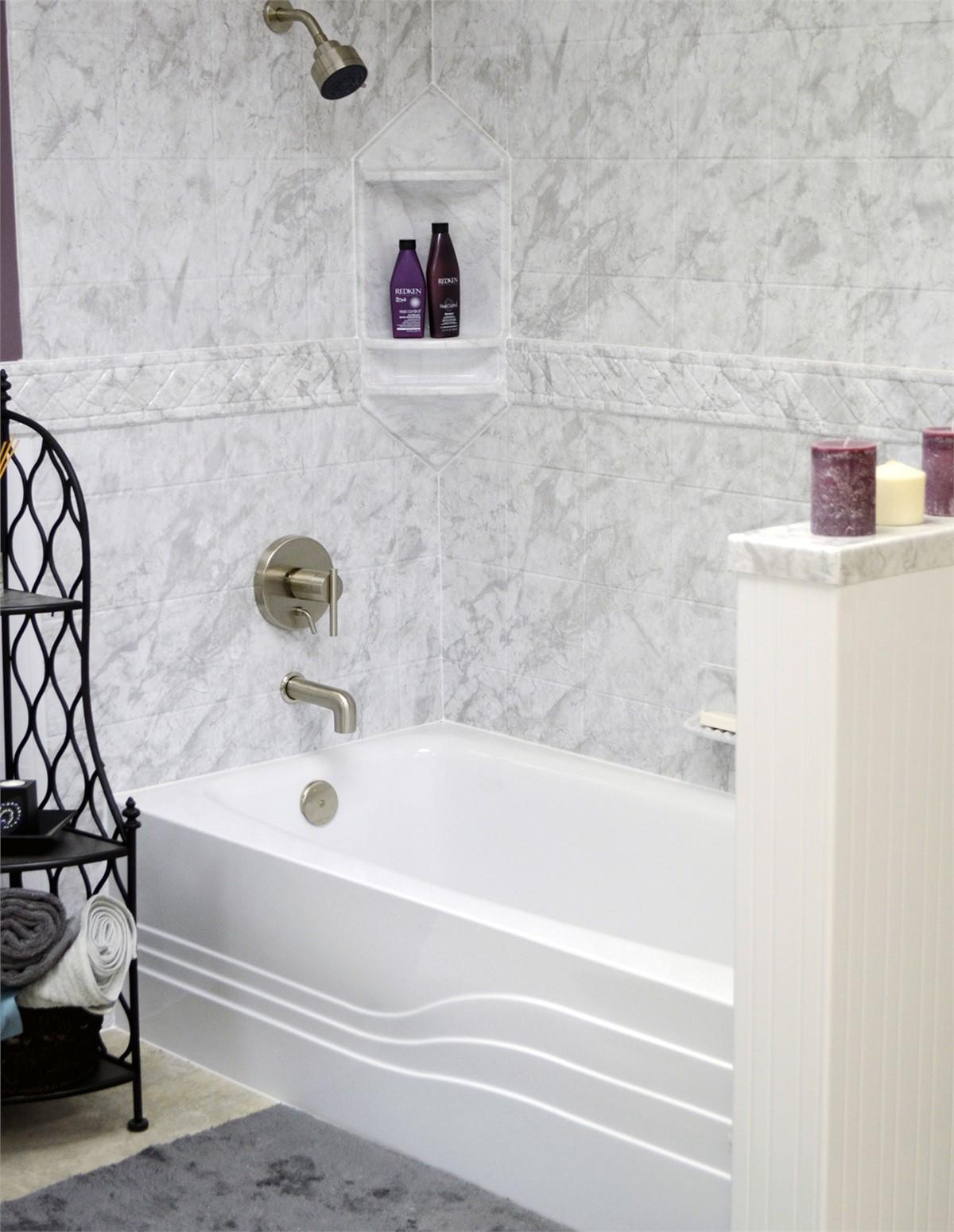 Syracuse Bath Wall Surrounds | Bathtub Enclosures Syracuse | Bath Renew