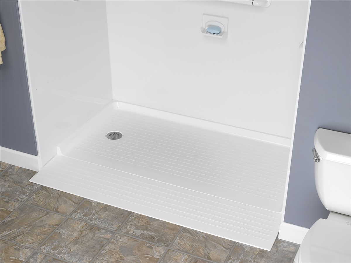 Handicap Bathroom Accessories south florida barrier free shower base | handicap shower base